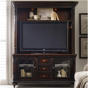 Hooker Furniture Eastridge Entertainment Console and Hutch