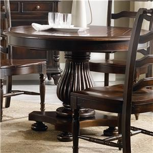 Hooker Furniture Eastridge Round Pedestal Dining Table