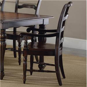 Hooker Furniture Eastridge Ladderback Arm Chair