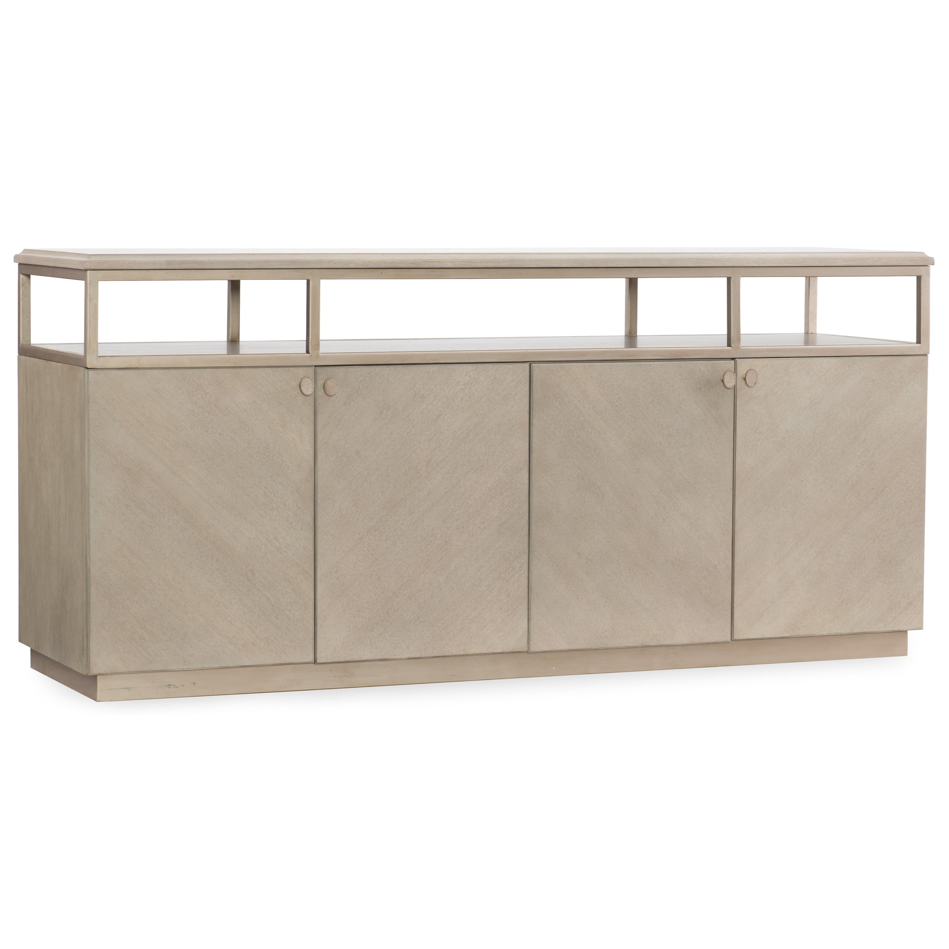 Elixir Entertainment Console by Hooker Furniture at Miller Waldrop Furniture and Decor