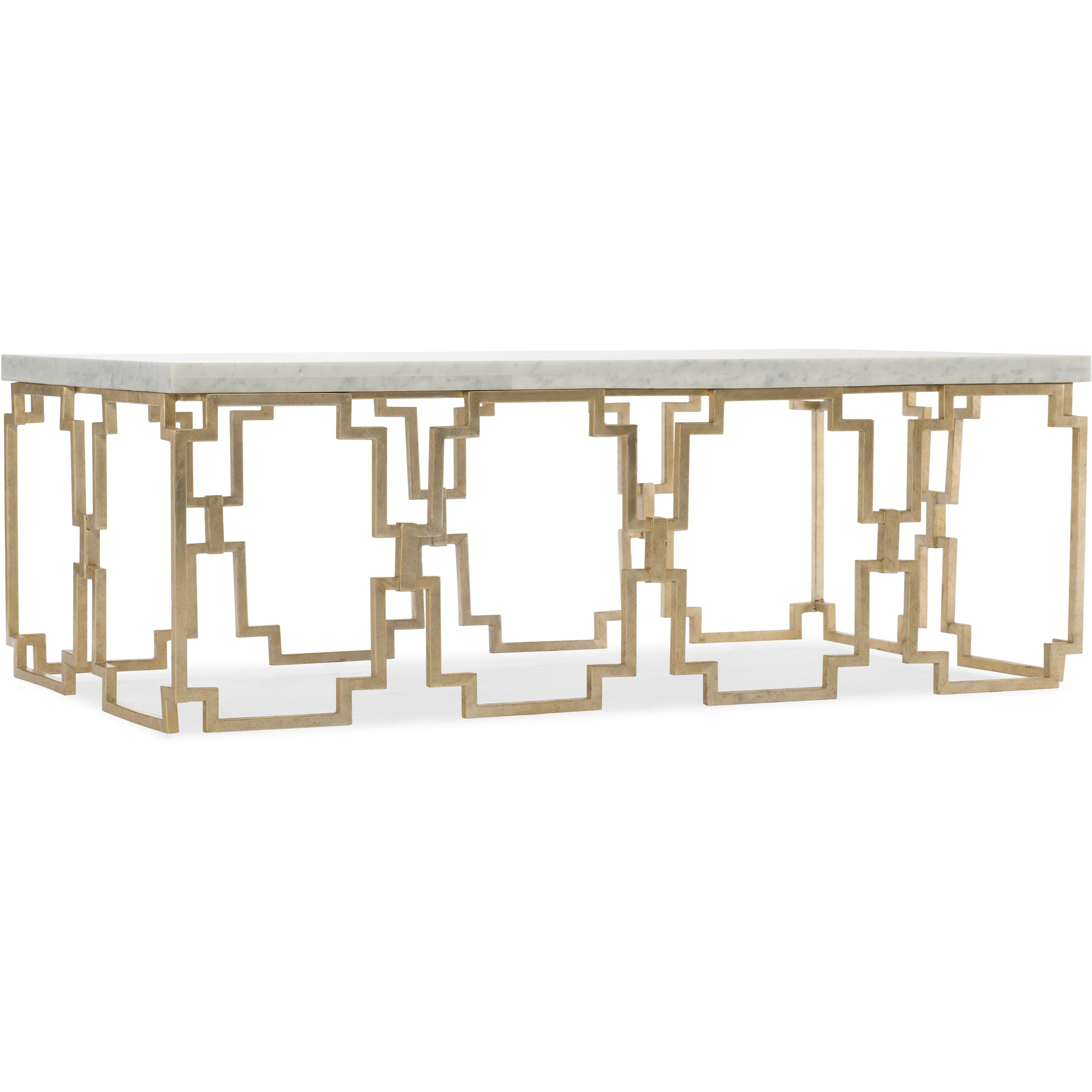 Evermore Rectangle Cocktail Table by Hooker Furniture at Miller Waldrop Furniture and Decor