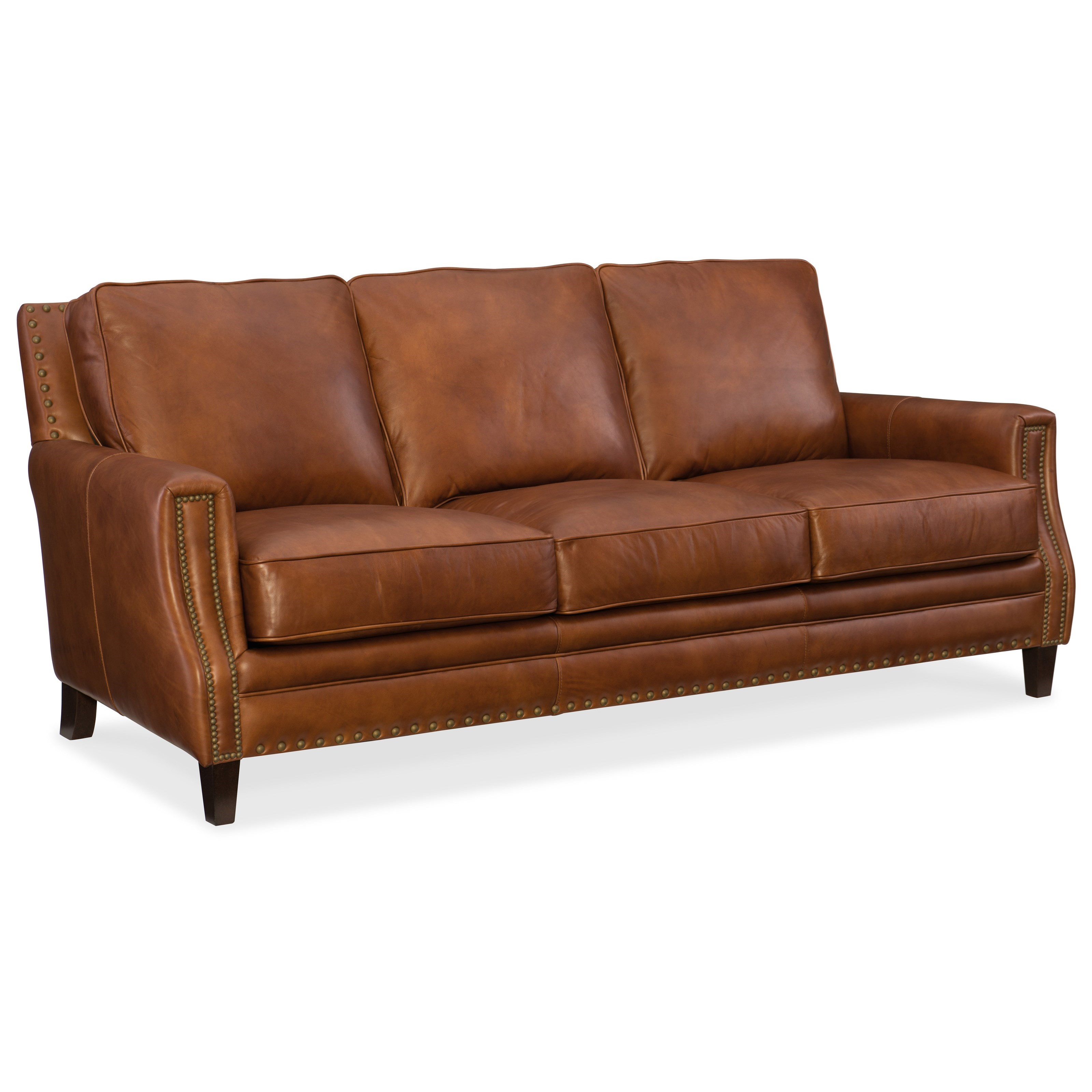 Exton Stationary Sofa by Hooker Furniture at Alison Craig Home Furnishings