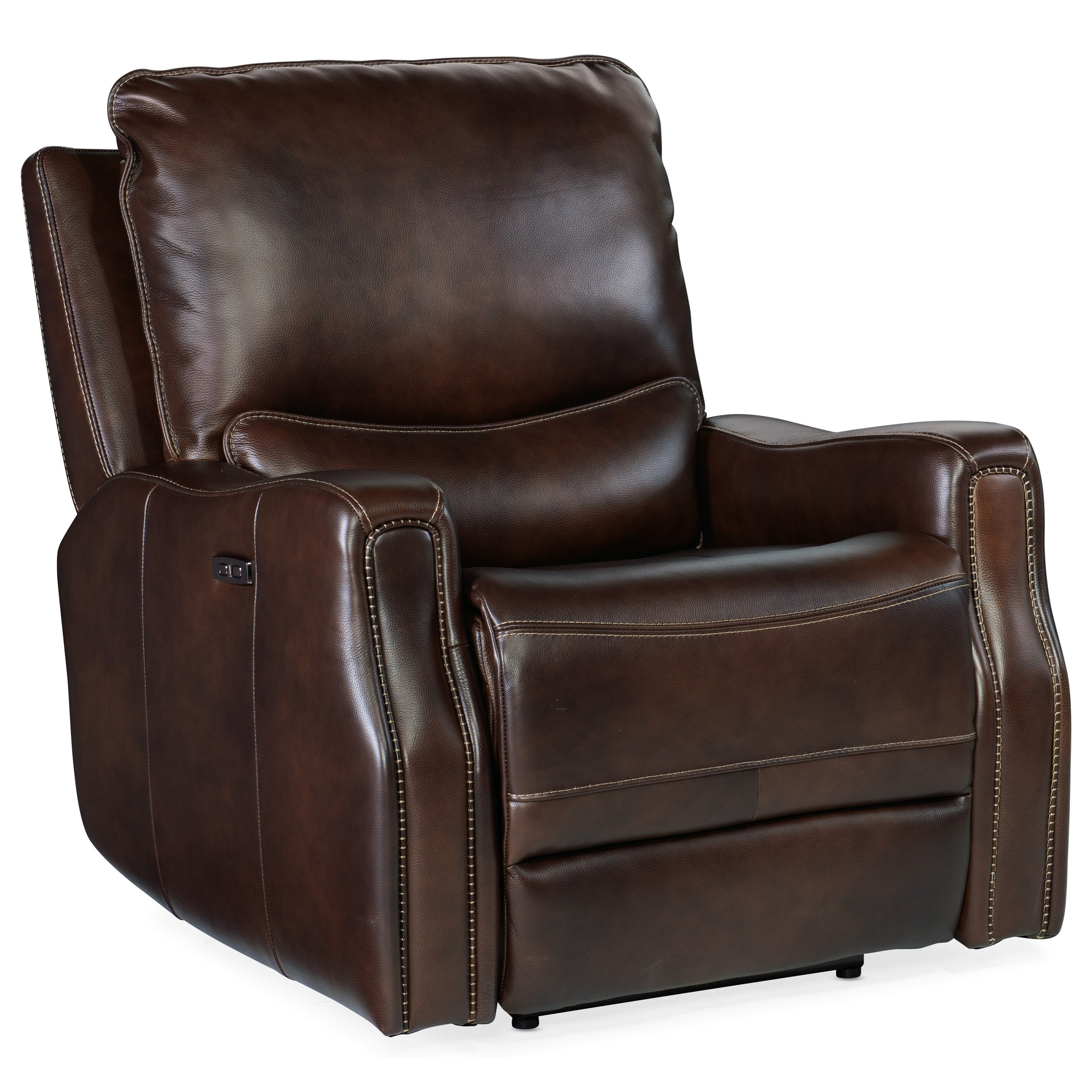 Gage Power Recliner by Hooker Furniture at Baer's Furniture