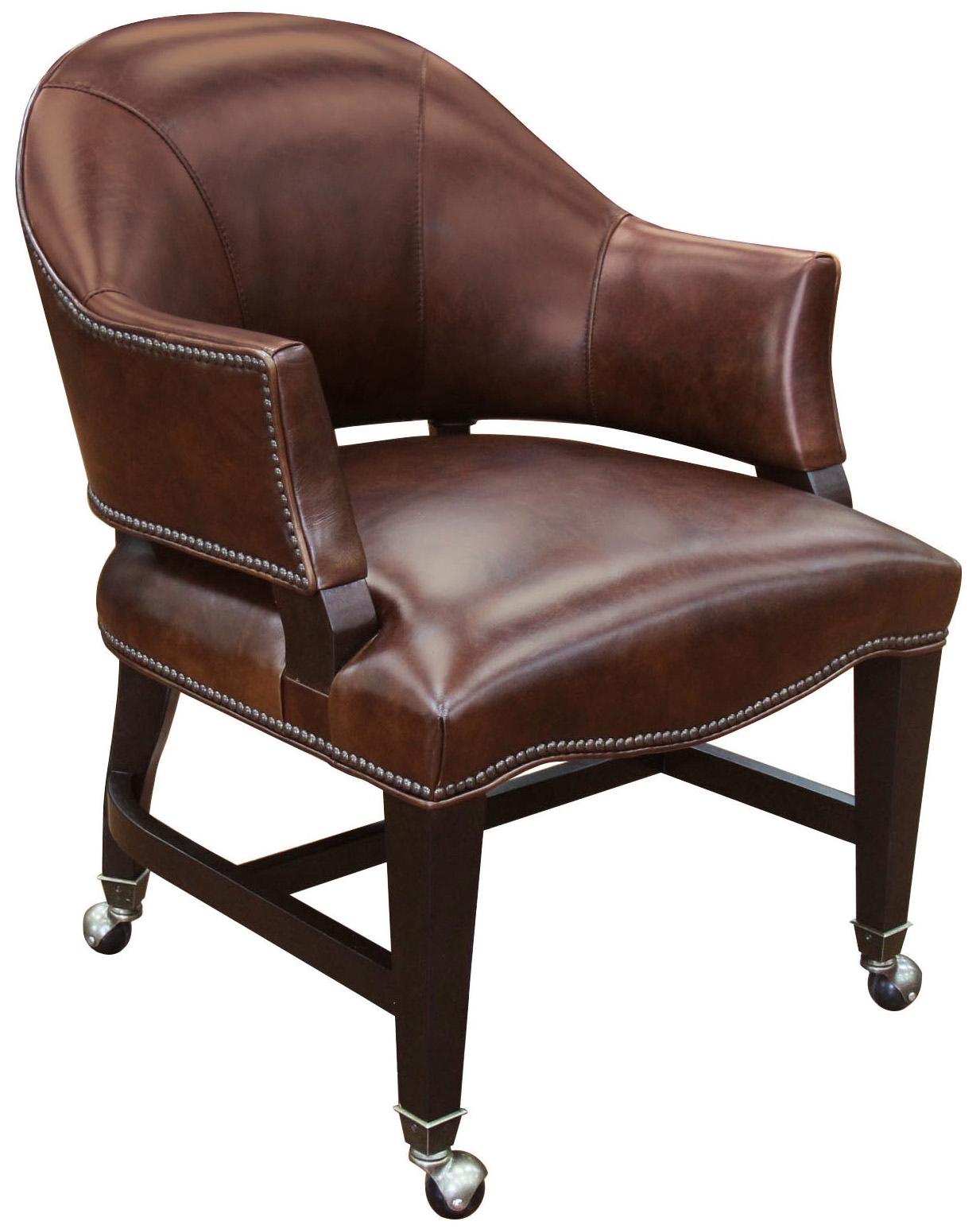 Game Chairs Isadora Nut Game Chair by Hooker Furniture at Baer's Furniture
