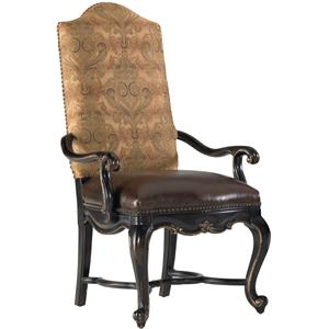 Hooker Furniture Grandover Upholstered Arm Chair