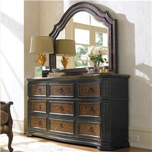 Hooker Furniture Grandover Dresser & Mirror
