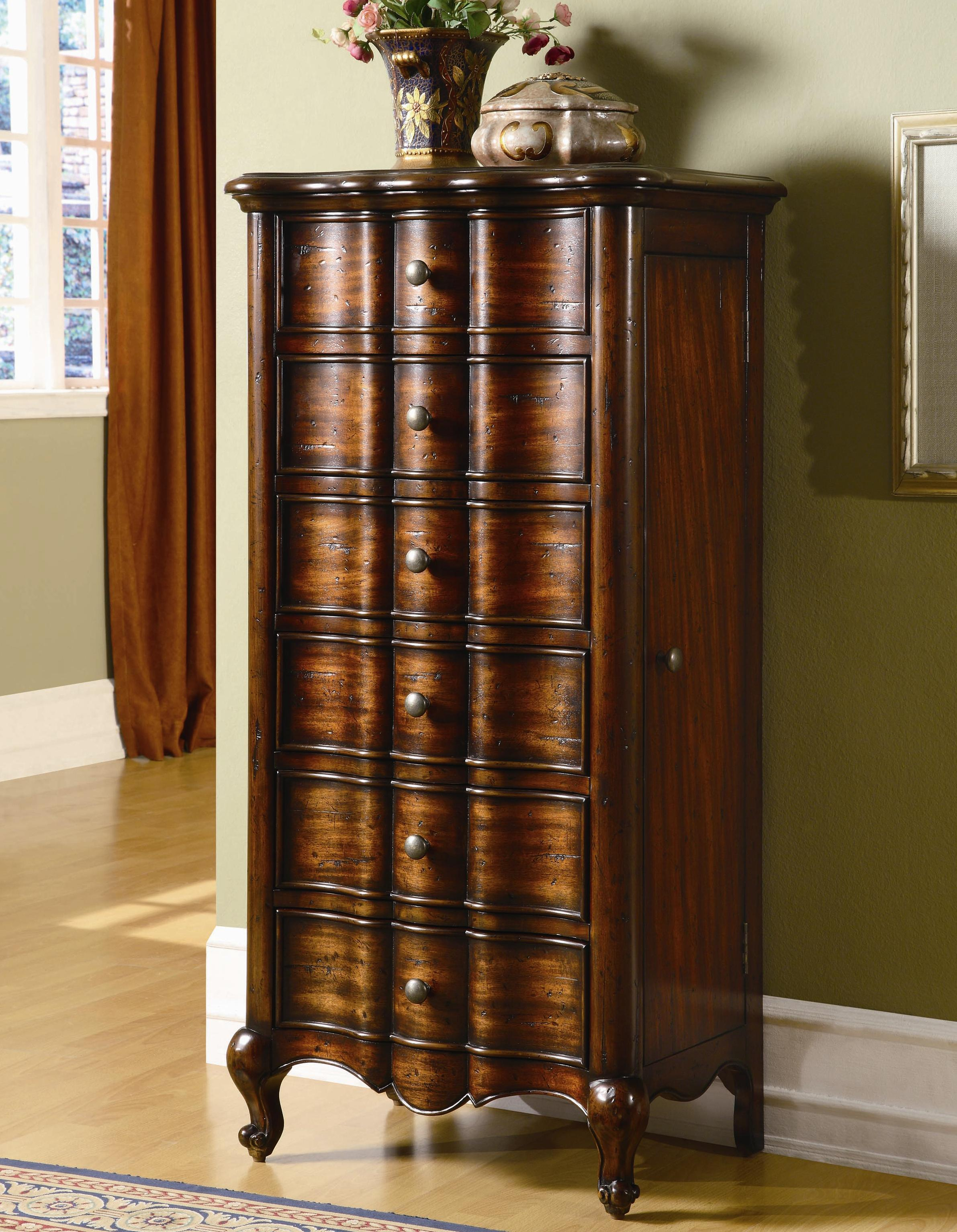 Accents Jewelry Armoire by Hooker Furniture at Baer's Furniture