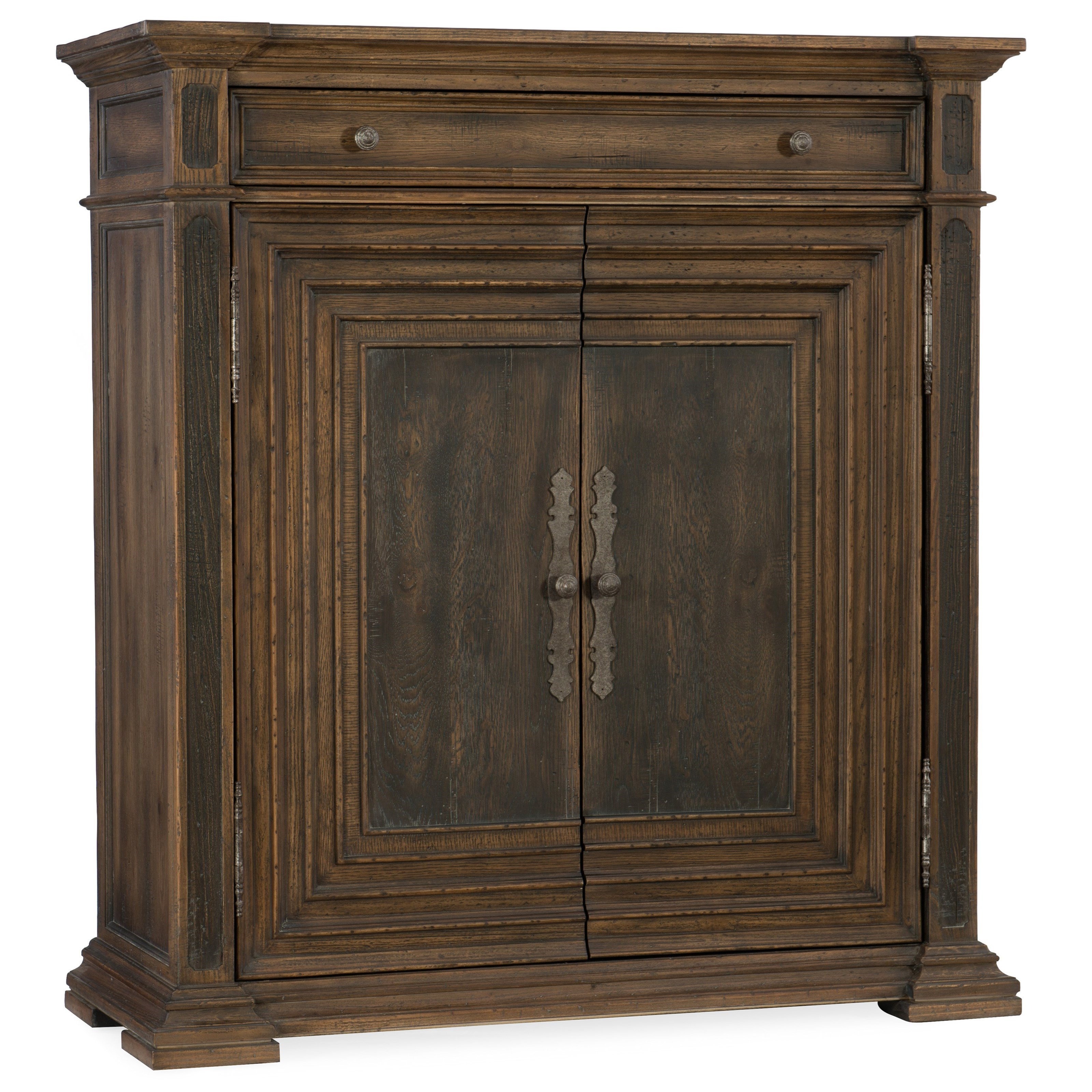 Hill Country Cypress Mill Accent Chest by Hooker Furniture at Miller Waldrop Furniture and Decor