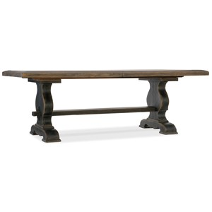Bandera 86in Table Trestle Table with 2-18in Leaves