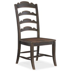 Twin Sisters Ladderback Side Chair