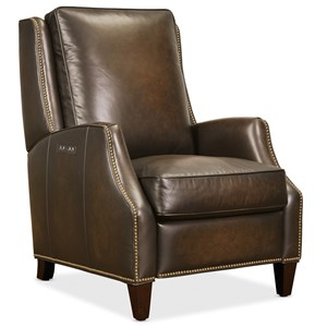 Leather Power Recliner w/ Power Headrest
