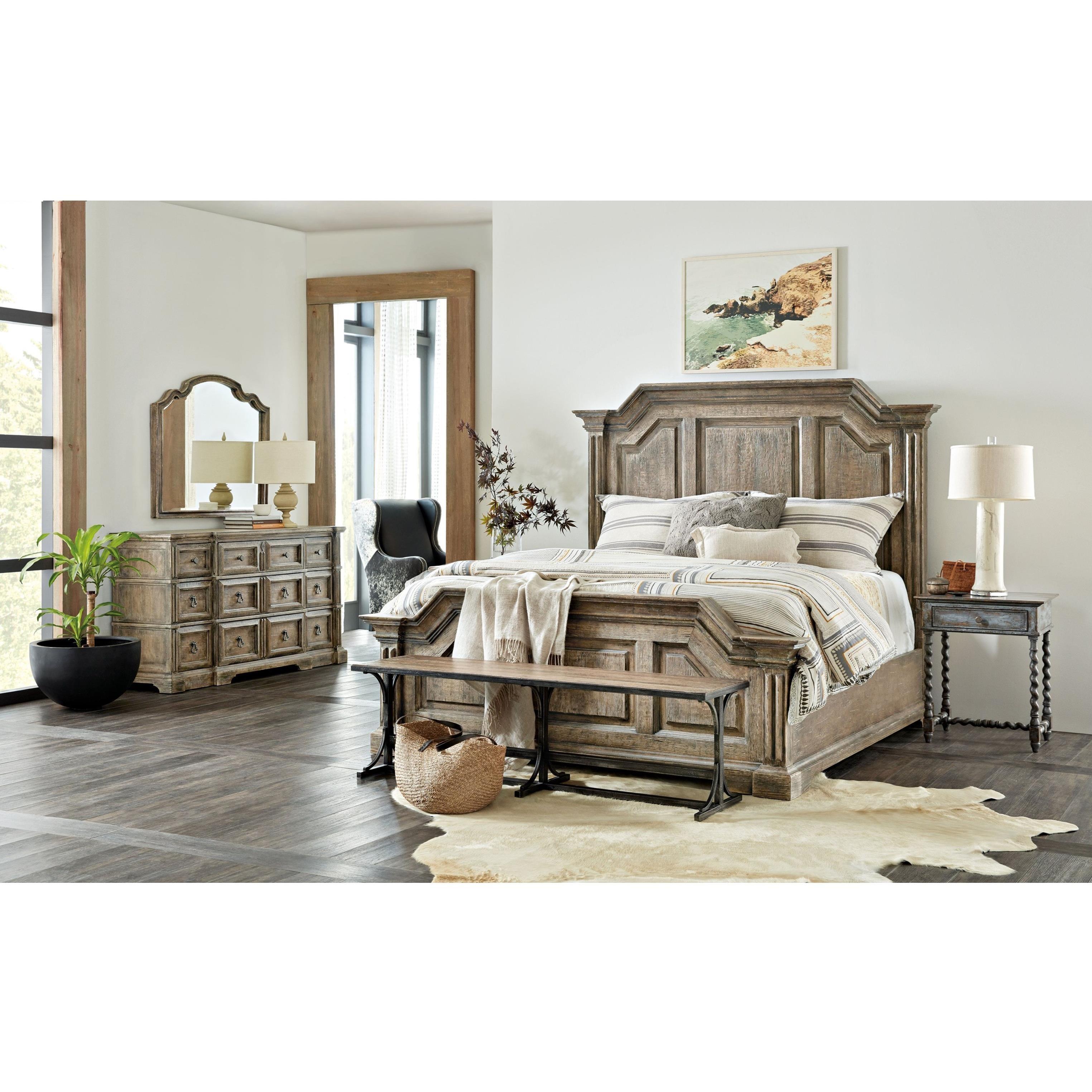 La Grange Queen Bedroom Group by Hooker Furniture at Baer's Furniture