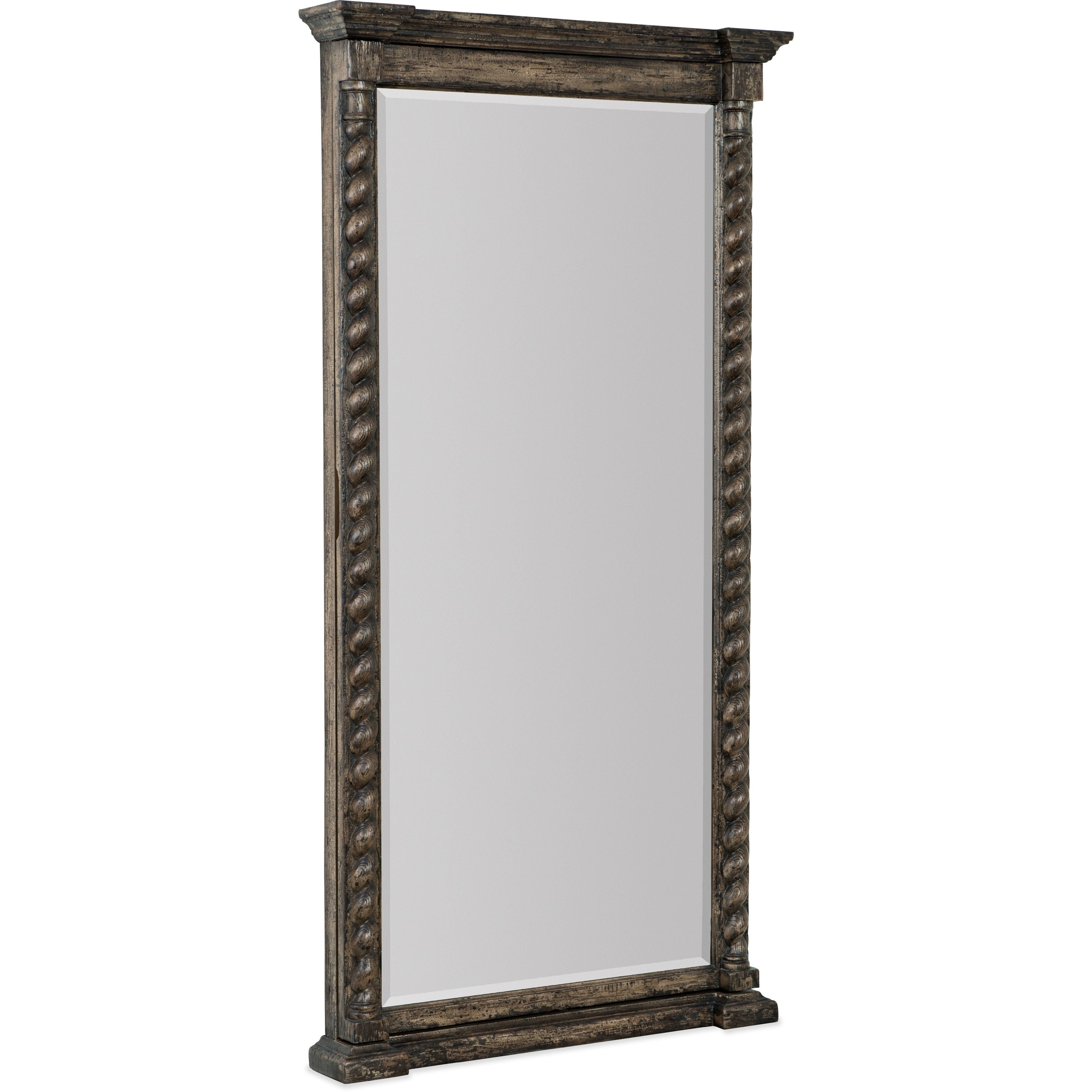 La Grange Vail Floor Mirror w/ Jewelry Storage by Hooker Furniture at Alison Craig Home Furnishings