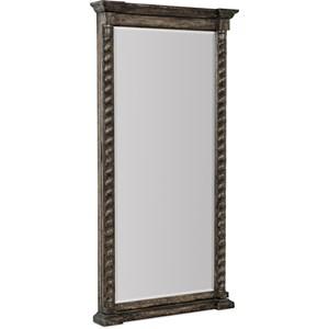 Vail Floor Mirror w/ Jewelry Storage