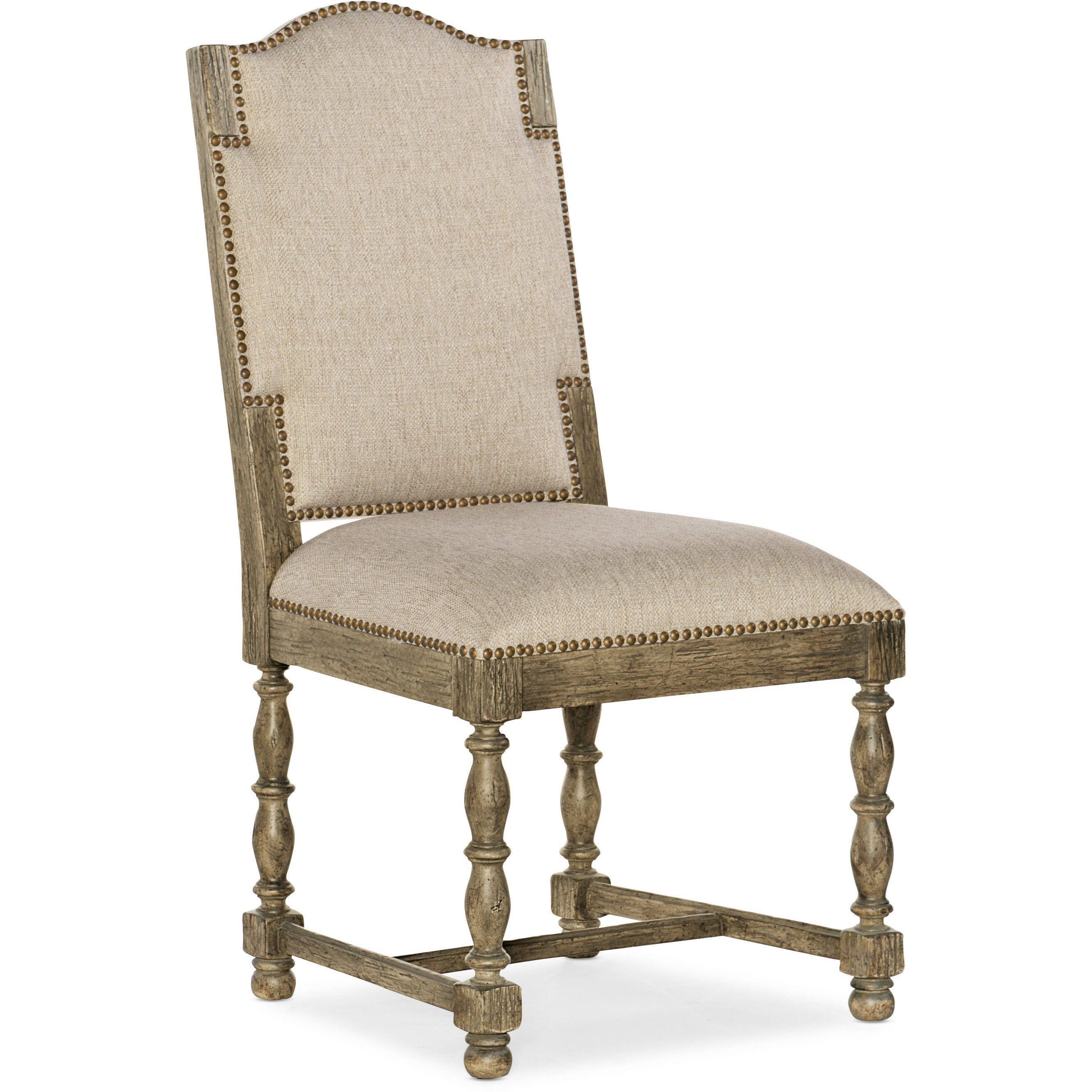 La Grange Kruschel Square Back Side Chair by Hooker Furniture at Baer's Furniture