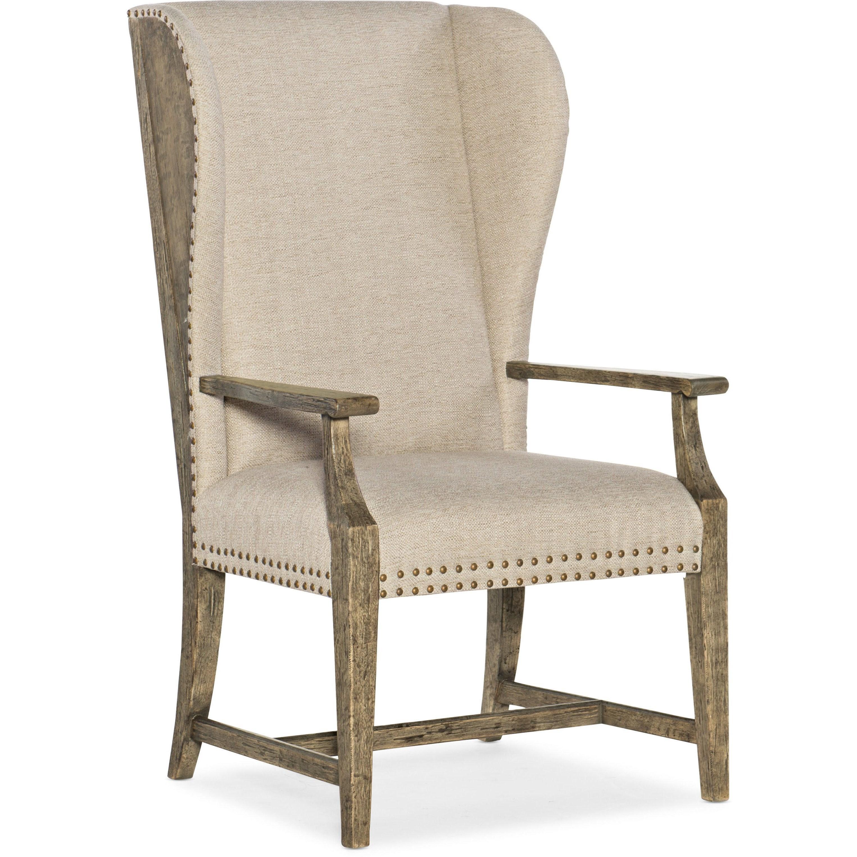 La Grange West Point Host Chair by Hooker Furniture at Baer's Furniture