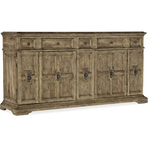 2-Door Holman Buffet with Felt-Lined Drawers