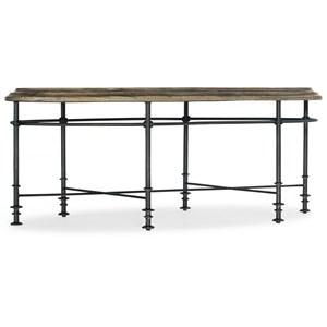 Faison Oval Cocktail Table