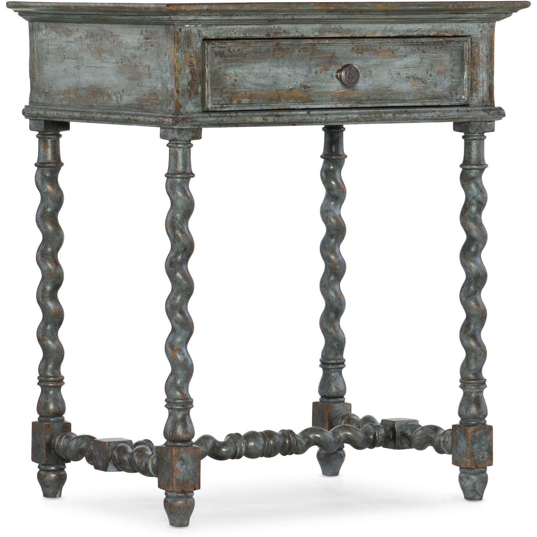La Grange Moulin Telephone  Table by Hooker Furniture at Baer's Furniture