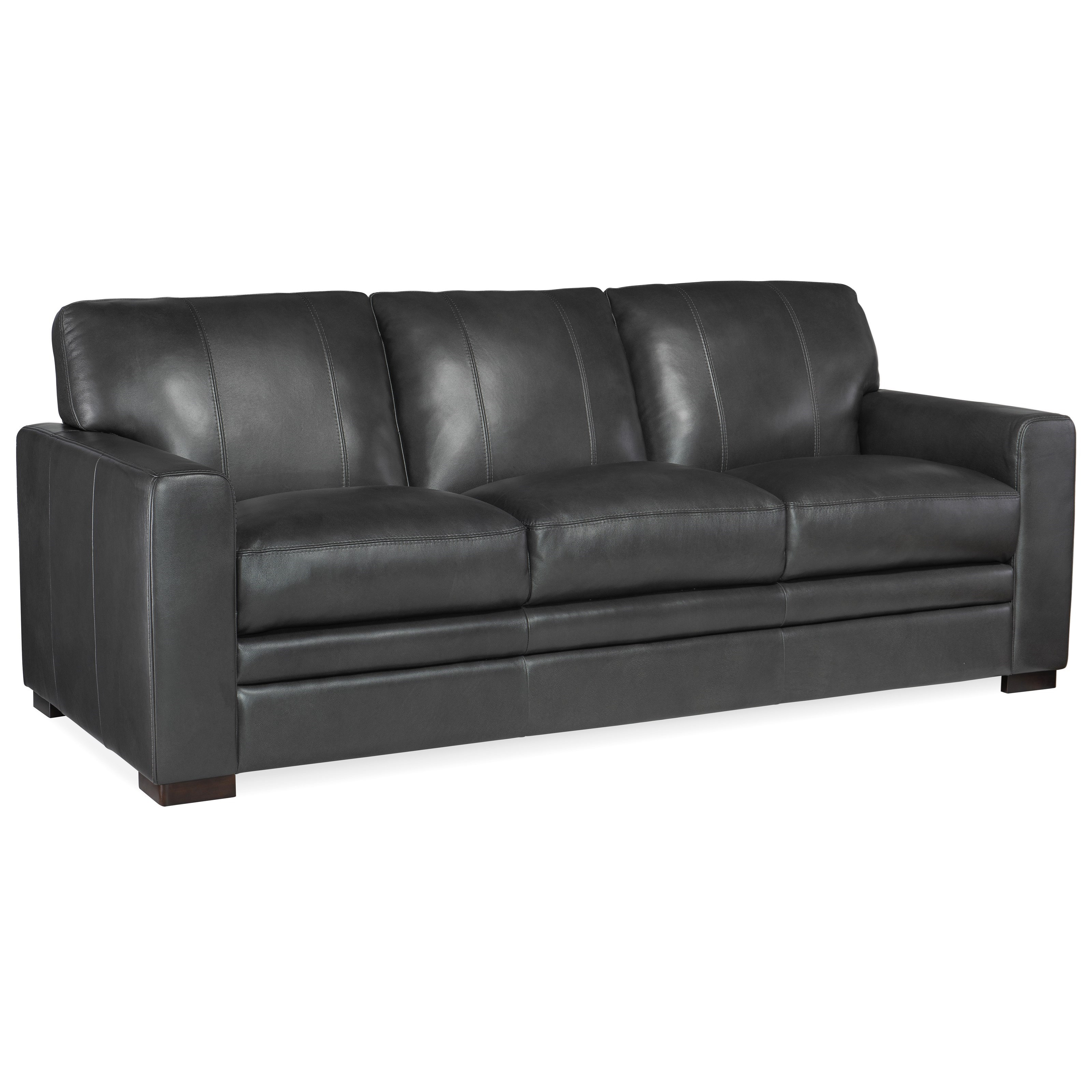 Larkin Stationary Sofa by Hooker Furniture at Baer's Furniture
