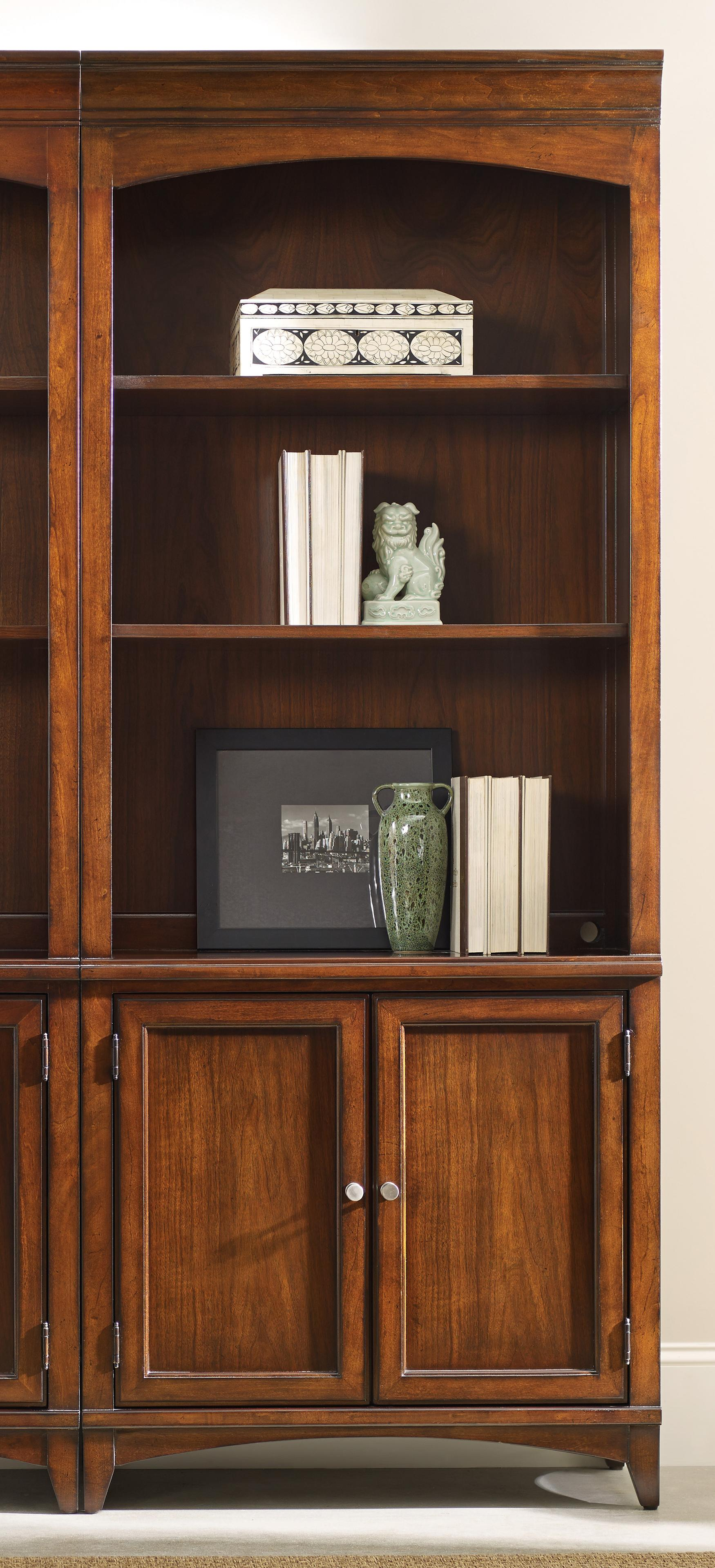 Latitude Bunching Bookcase by Hooker Furniture at Baer's Furniture