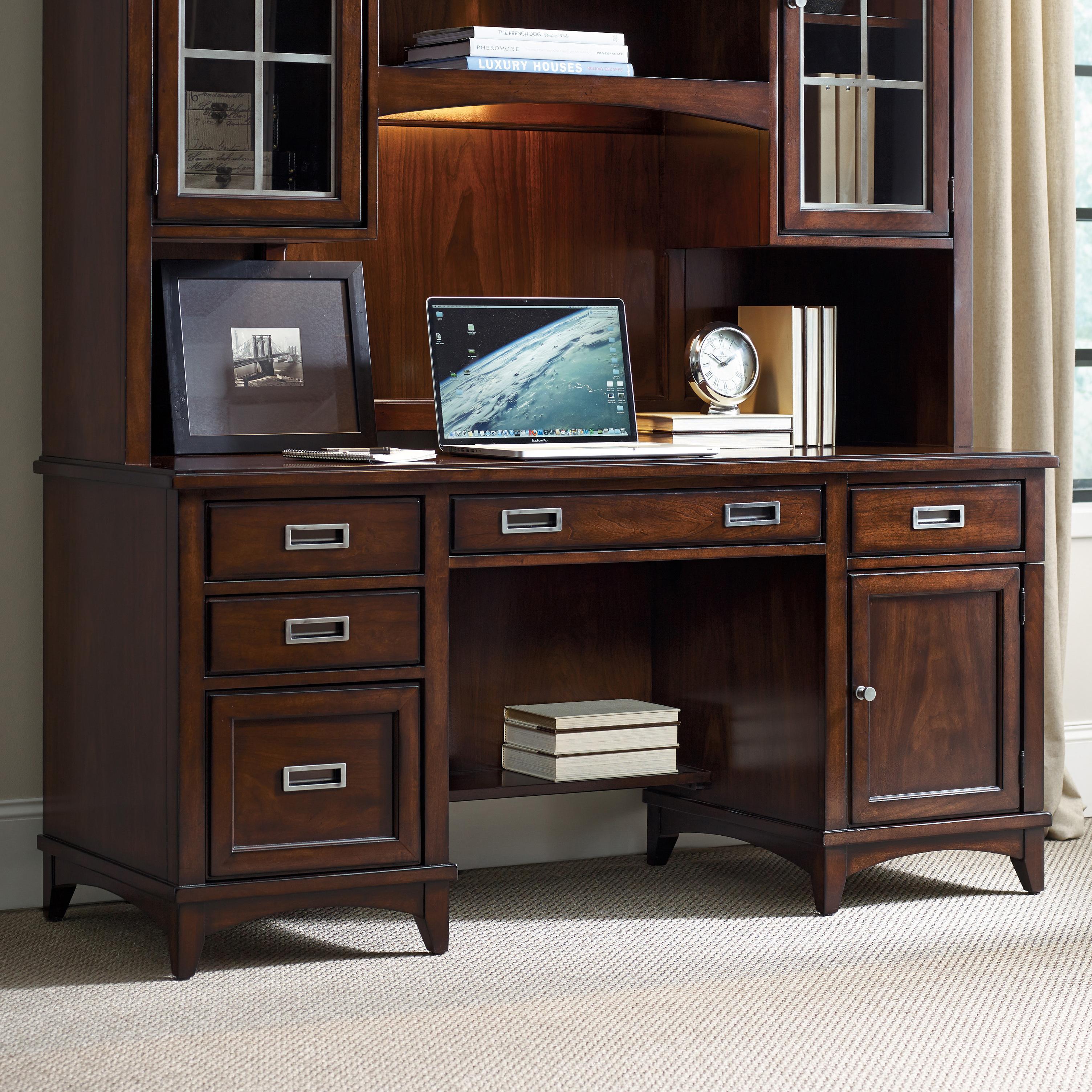 Latitude Computer Credenza by Hooker Furniture at Baer's Furniture