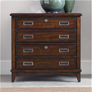 Walnut New-Vintage Lateral File