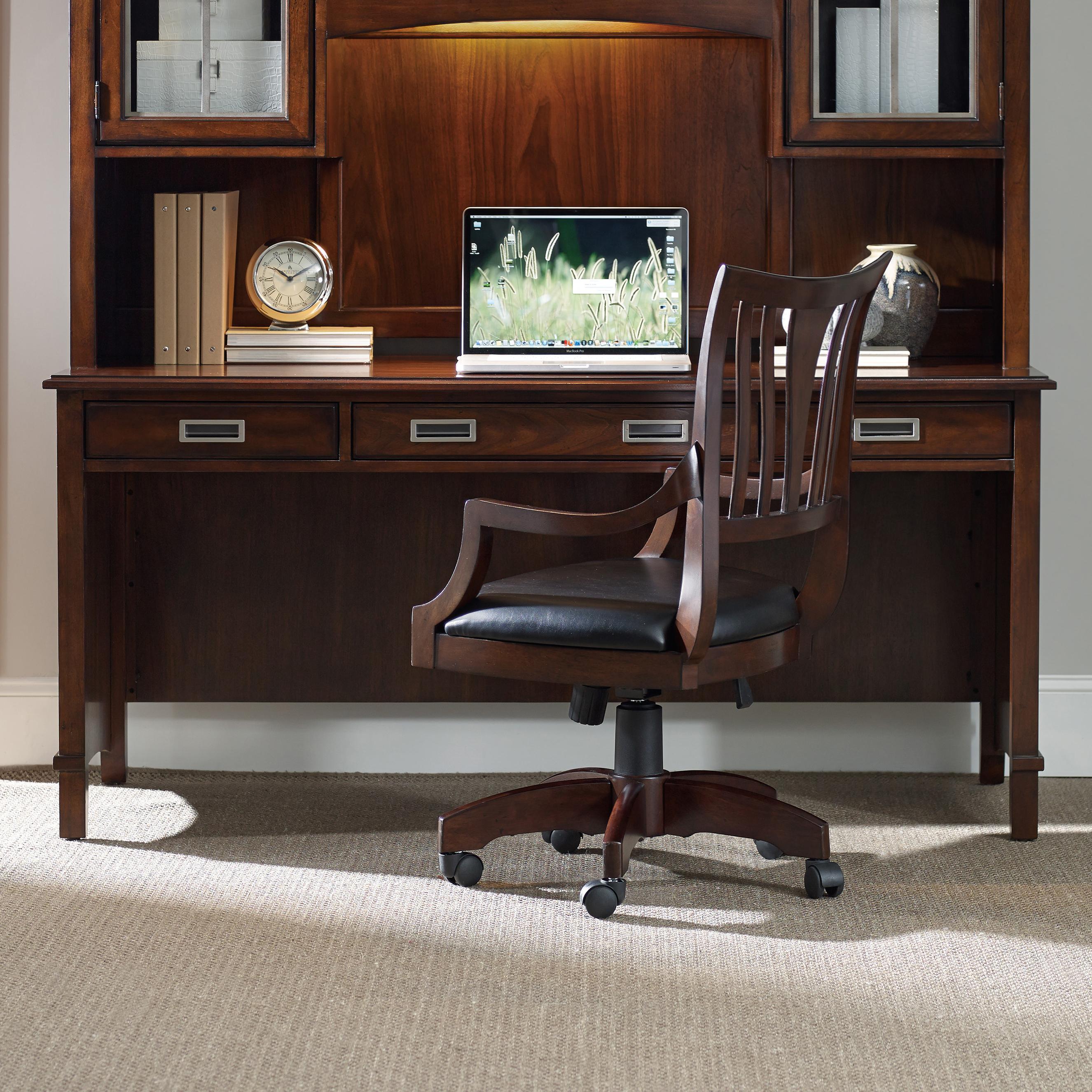 Latitude Shell Desk by Hooker Furniture at Stoney Creek Furniture