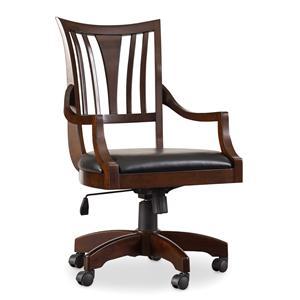 Hooker Furniture Latitude Tilt Swivel Desk Chair