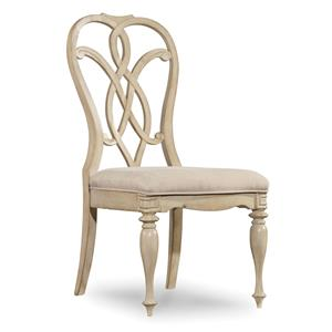 Splatback Side Chair with Traditional Style