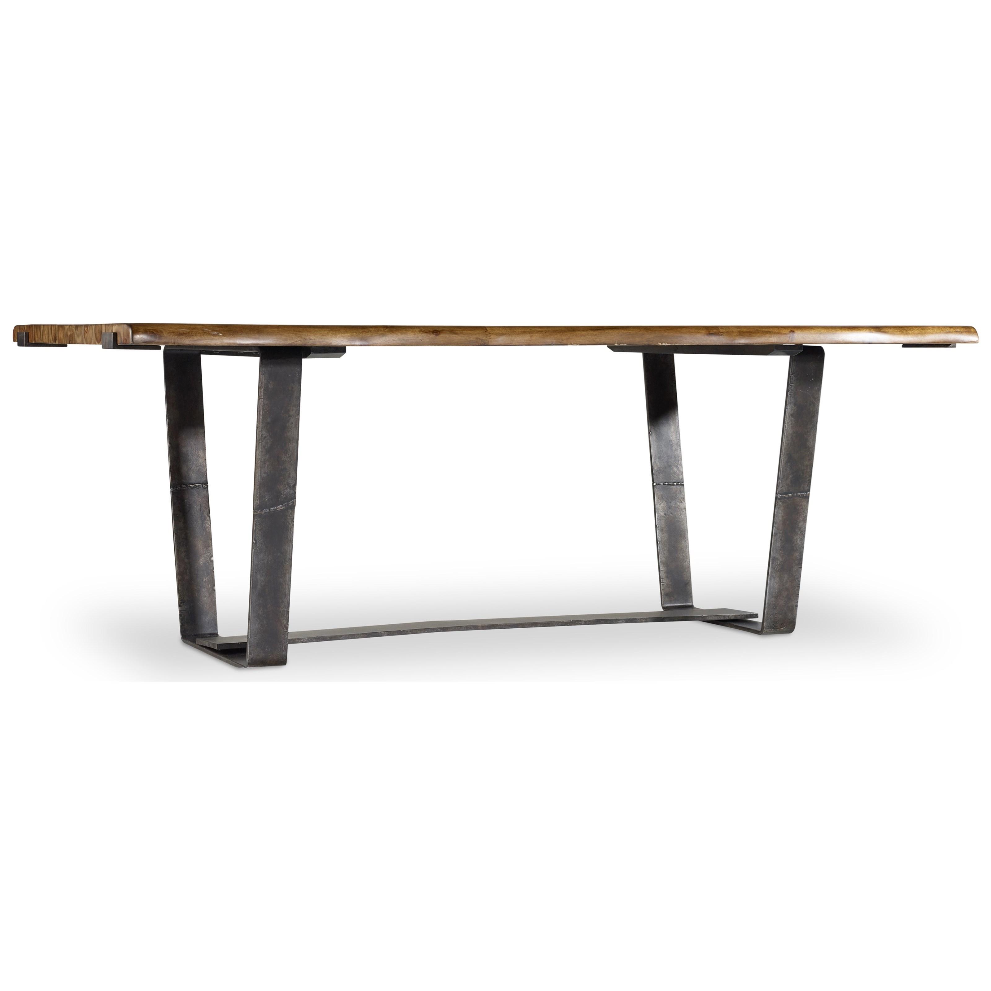 Live Edge Dining Table by Hooker Furniture at Stoney Creek Furniture
