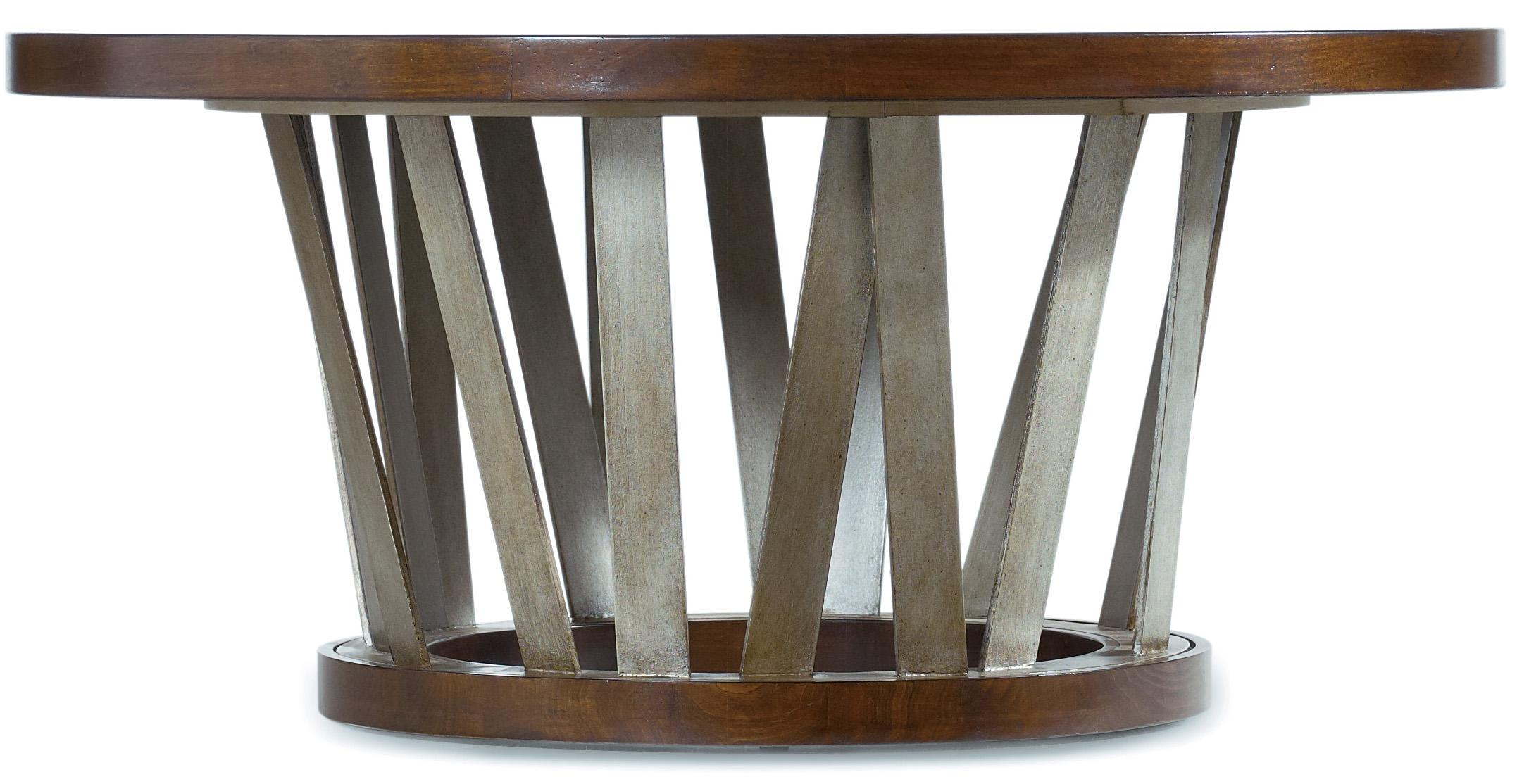 Lorimer Round Cocktail Table by Hooker Furniture at Stoney Creek Furniture