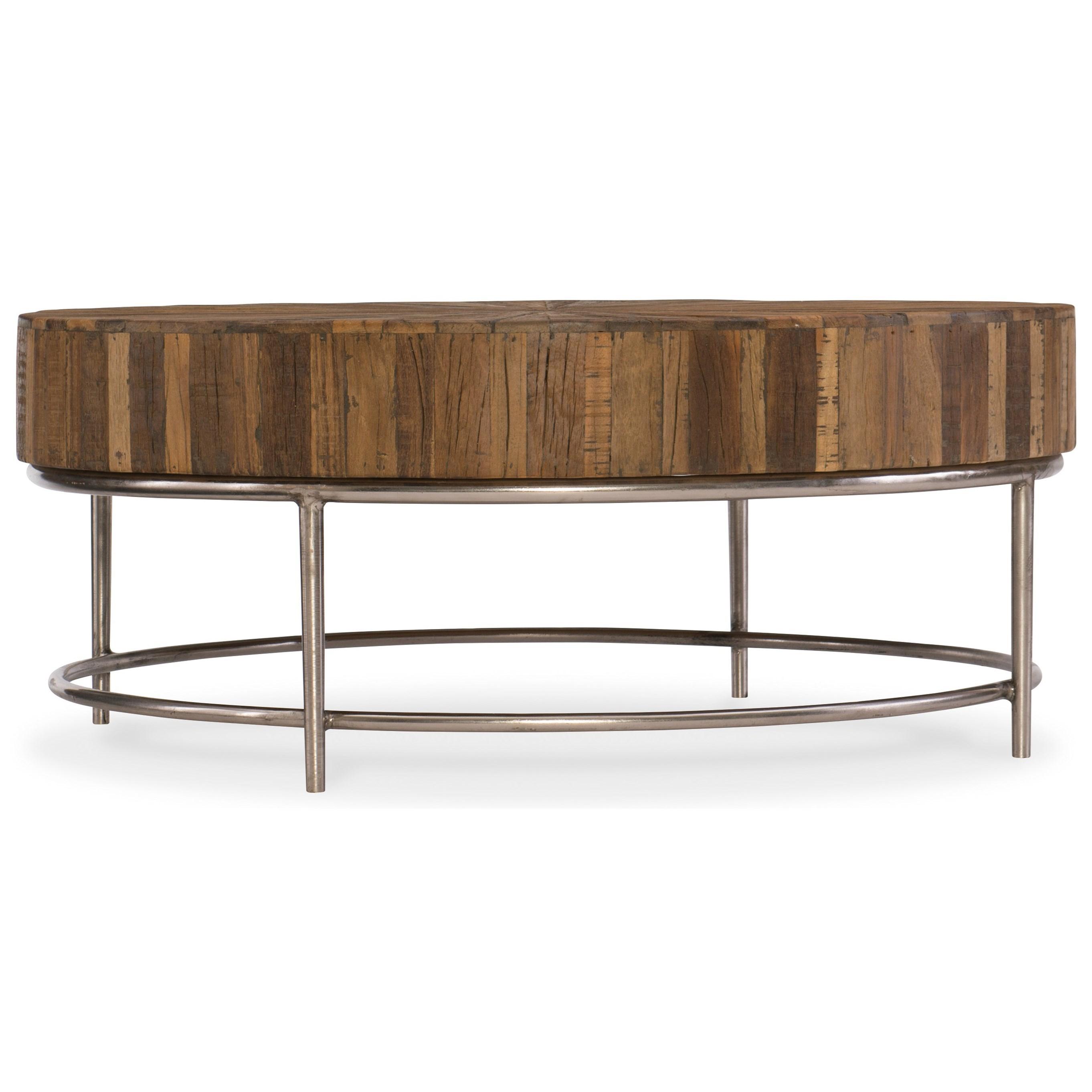 L'Usine Cocktail Table by Hooker Furniture at Baer's Furniture