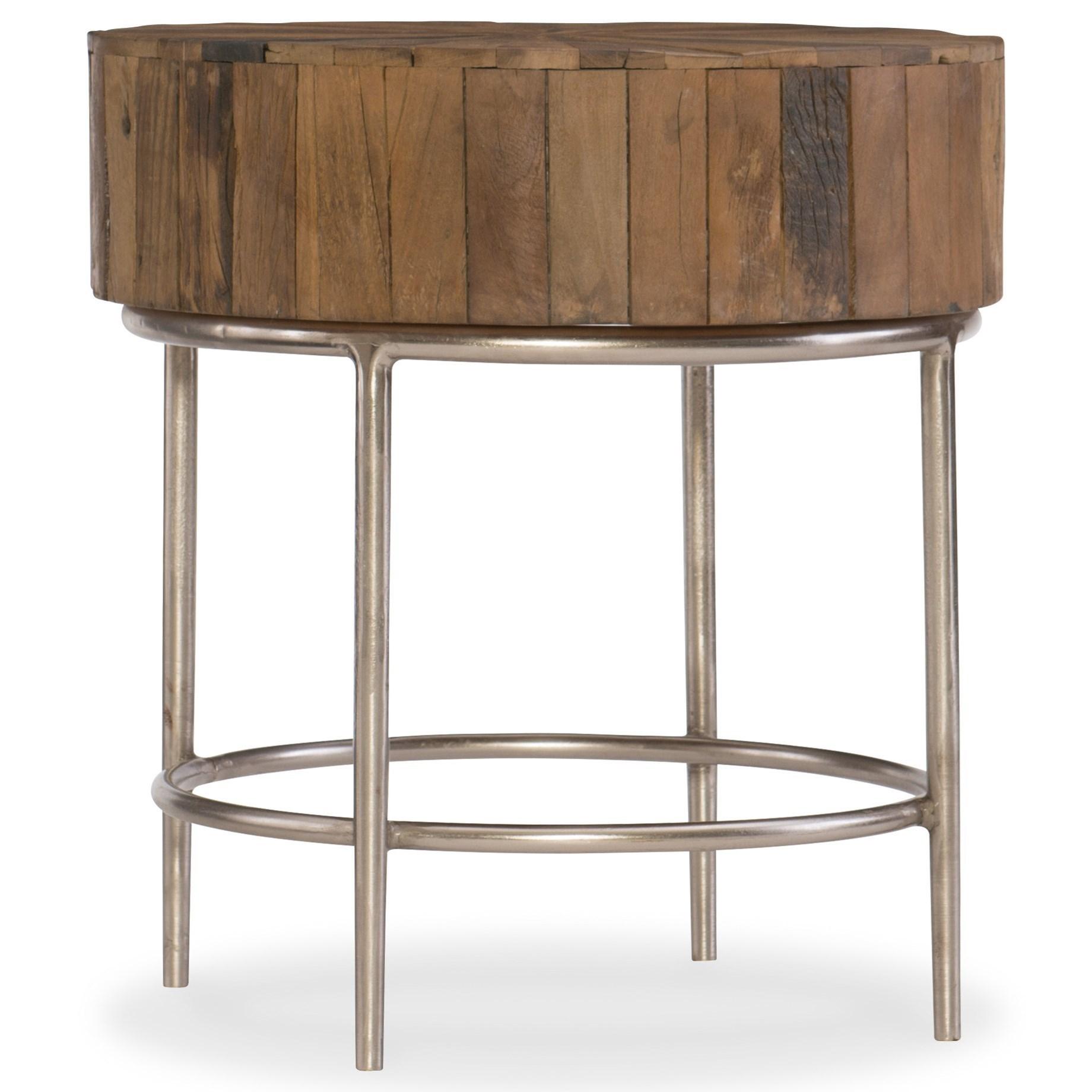 L'Usine End Table by Hooker Furniture at Baer's Furniture