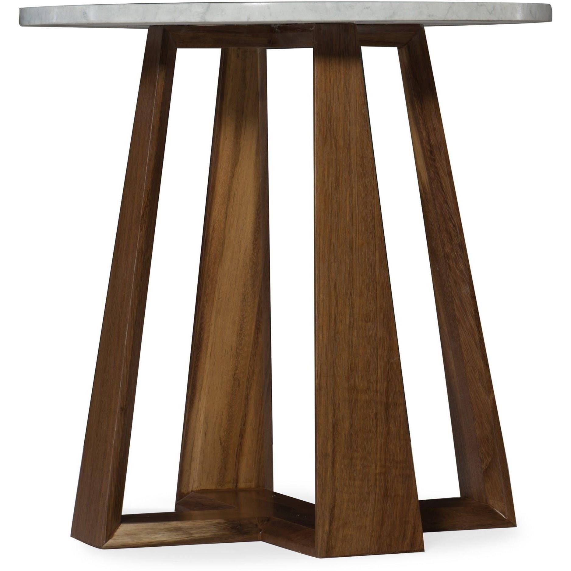 Melange End Table by Hooker Furniture at Baer's Furniture