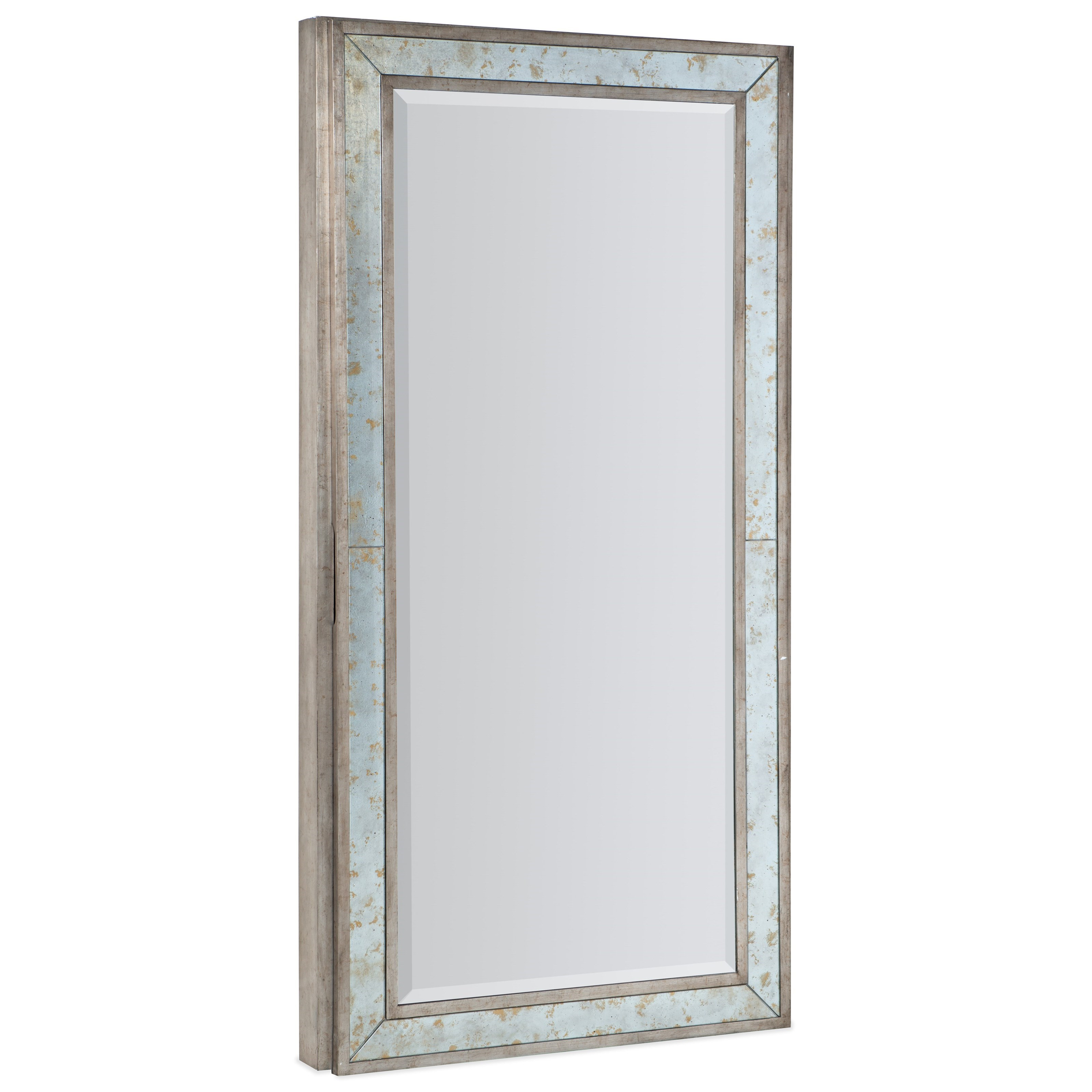 Melange McALister Floor Mirror by Hooker Furniture at Baer's Furniture