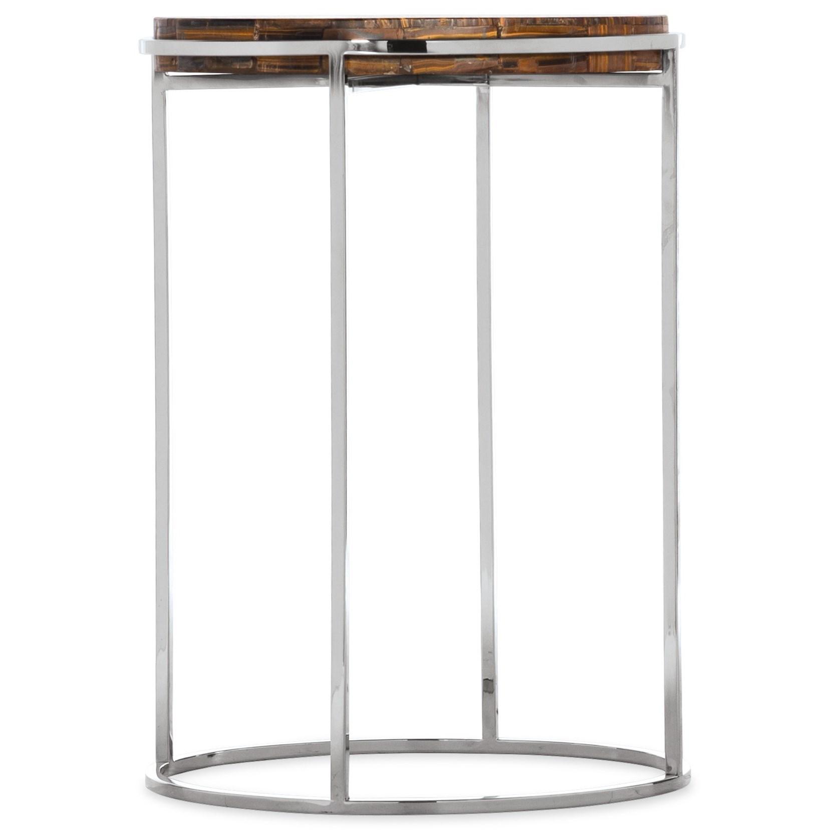 Melange Telsa Accent Table by Hooker Furniture at Suburban Furniture