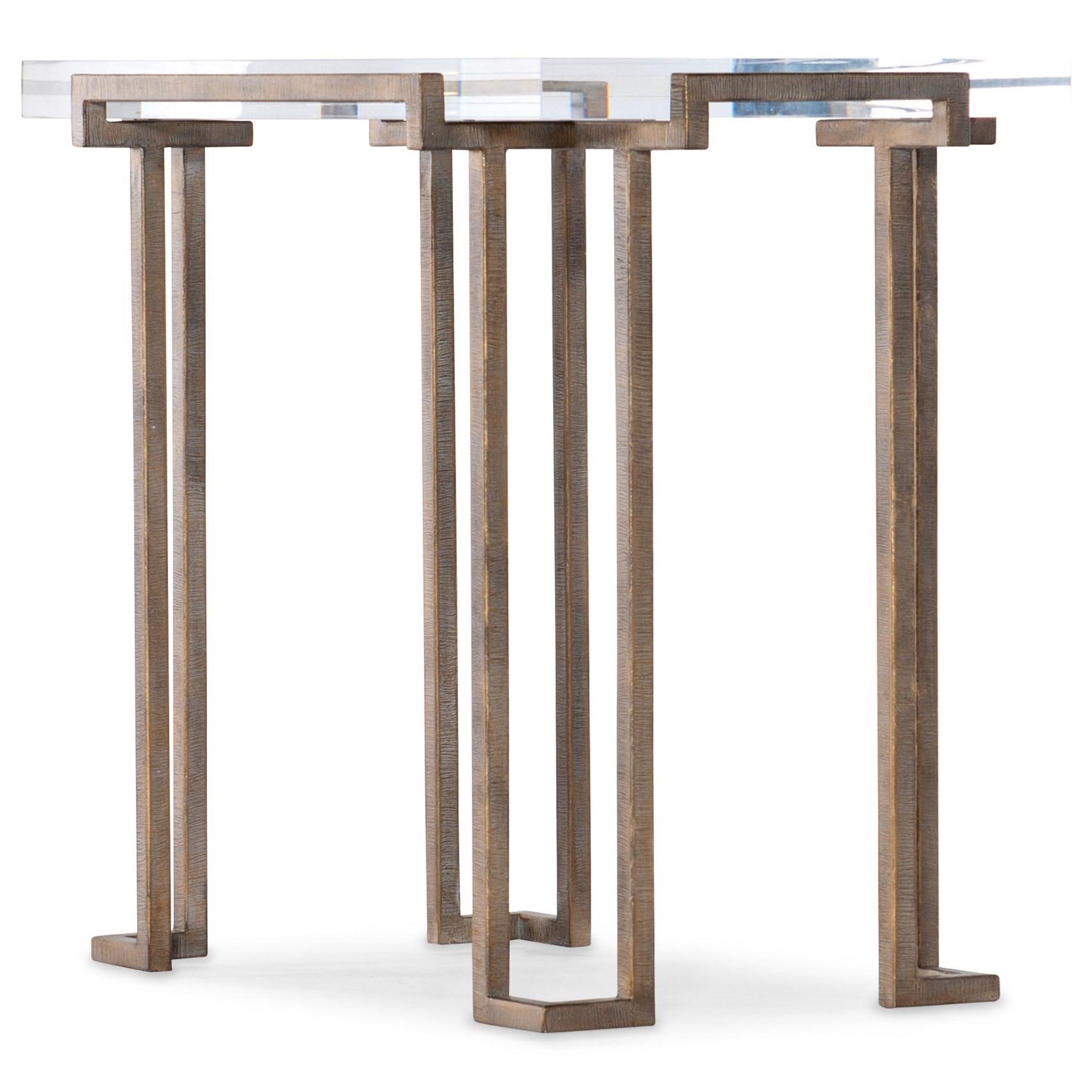 Melange Grove End Table by Hooker Furniture at Baer's Furniture