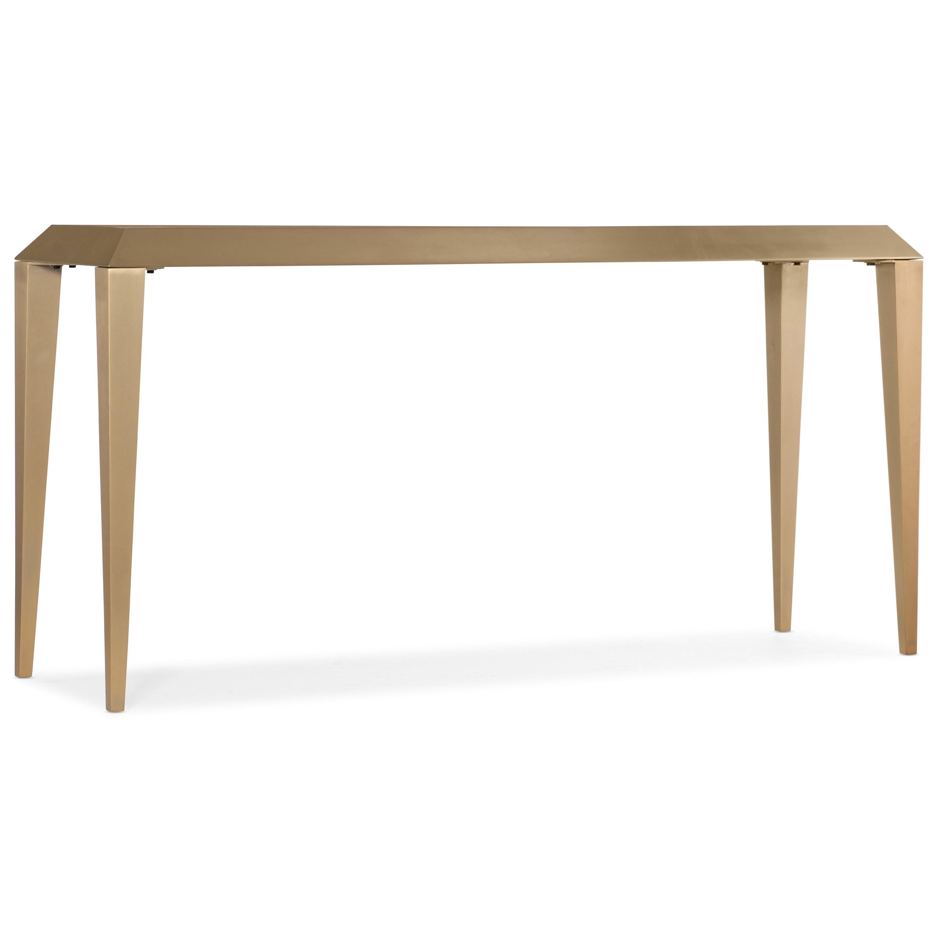 Melange Joliet Sofa Table by Hooker Furniture at Baer's Furniture