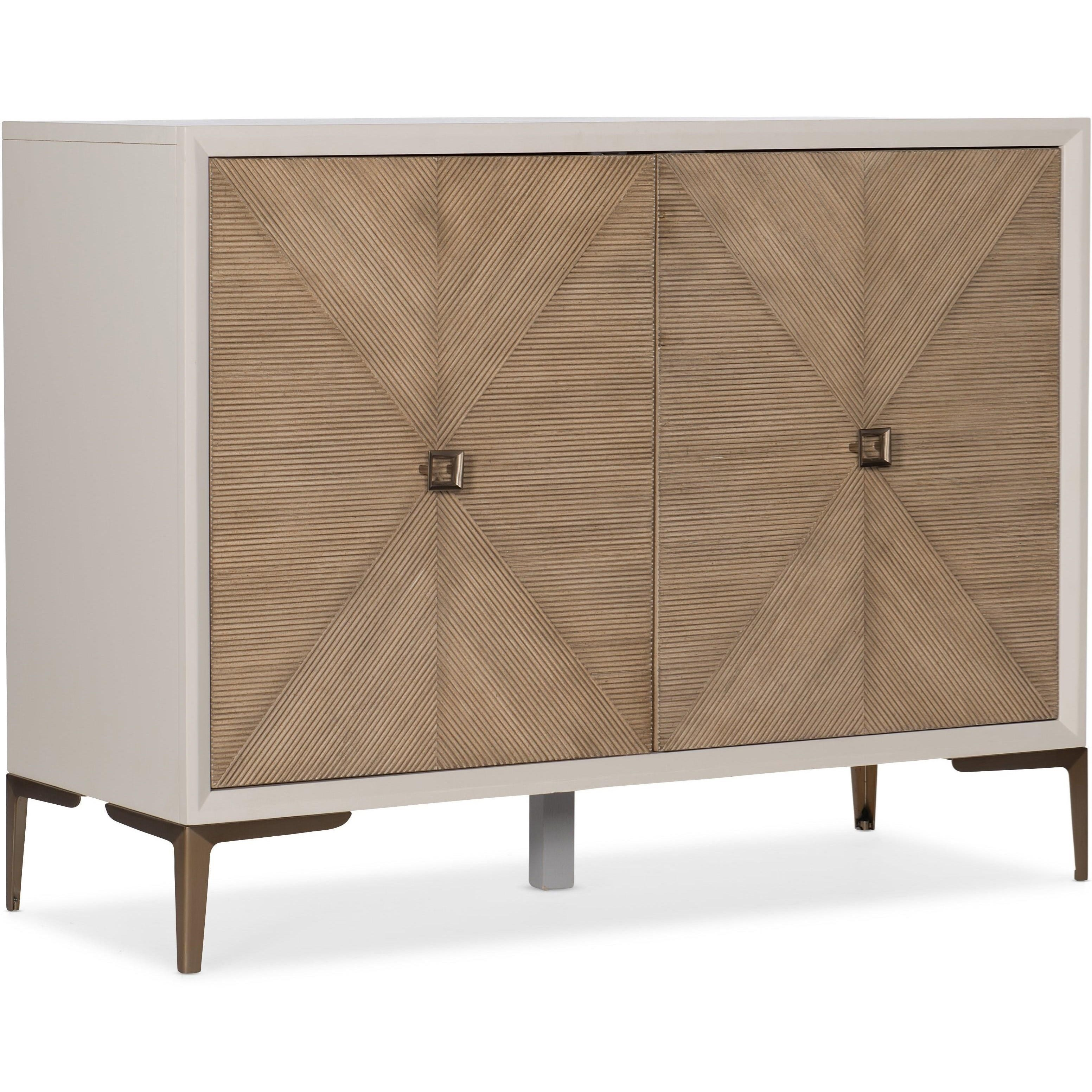 Melange Lisette Hall Chest by Hooker Furniture at Powell's Furniture and Mattress