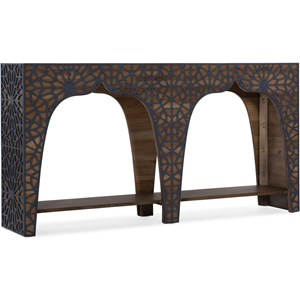 Transitional Hall Console Table