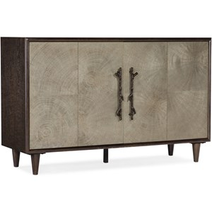 Contemporary 2-Door Accent Chest