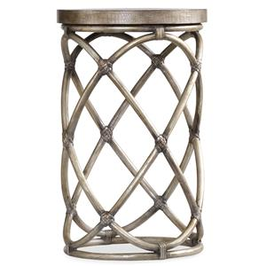 Hooker Furniture Mélange Rattan Accent Table