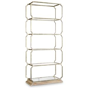 Carter Metal Etagere with 5 Shelves