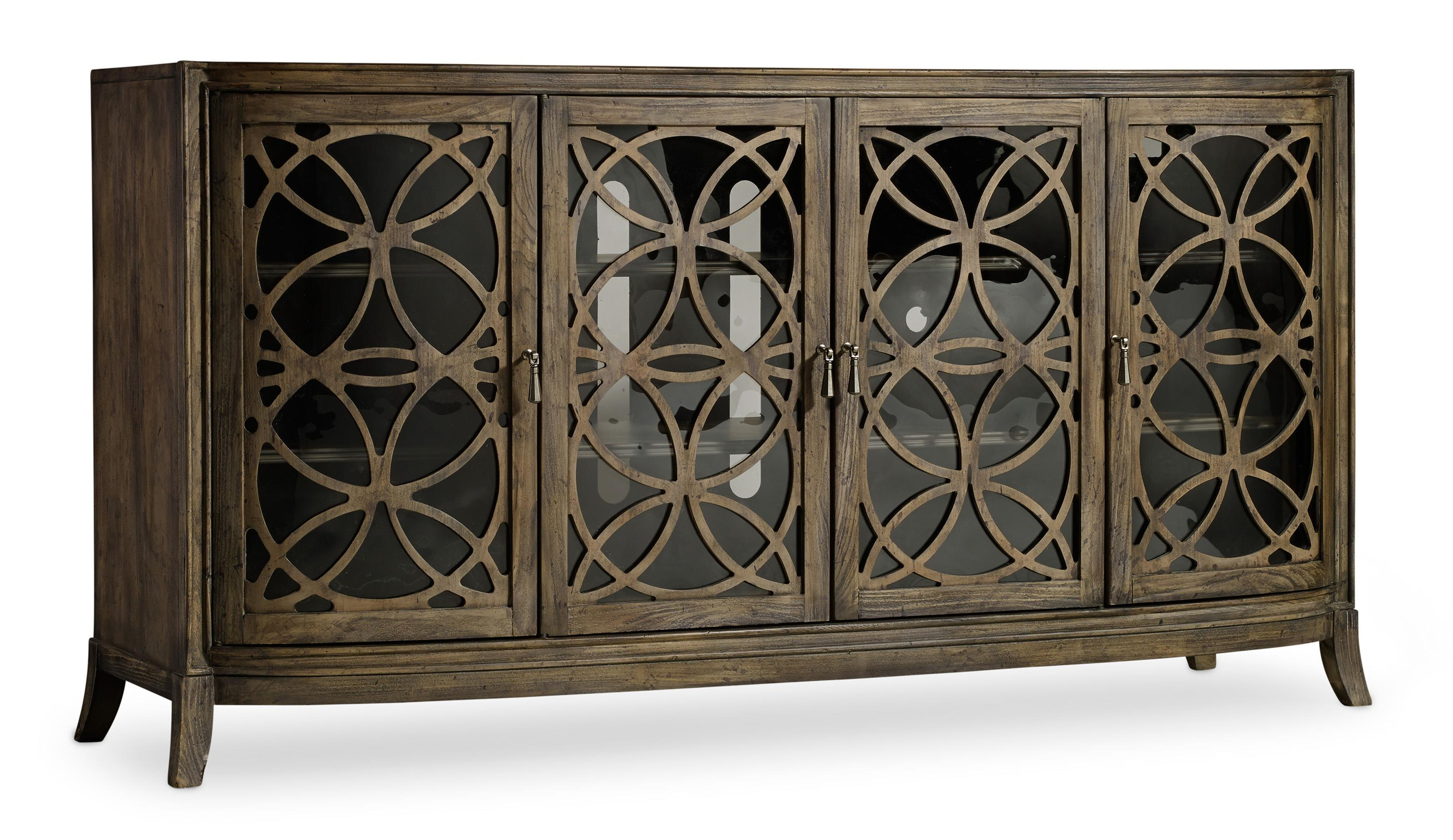 Mélange Sloan Console by Hooker Furniture at Miller Waldrop Furniture and Decor