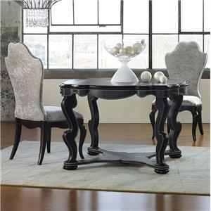 Hooker Furniture Mélange Bohemian Black Croc Dining Set
