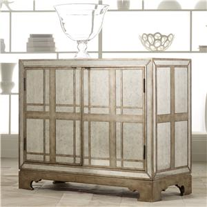 Hooker Furniture Mélange Mirrored Plaid Chest