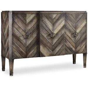 Hooker Furniture Mélange Chevron Console