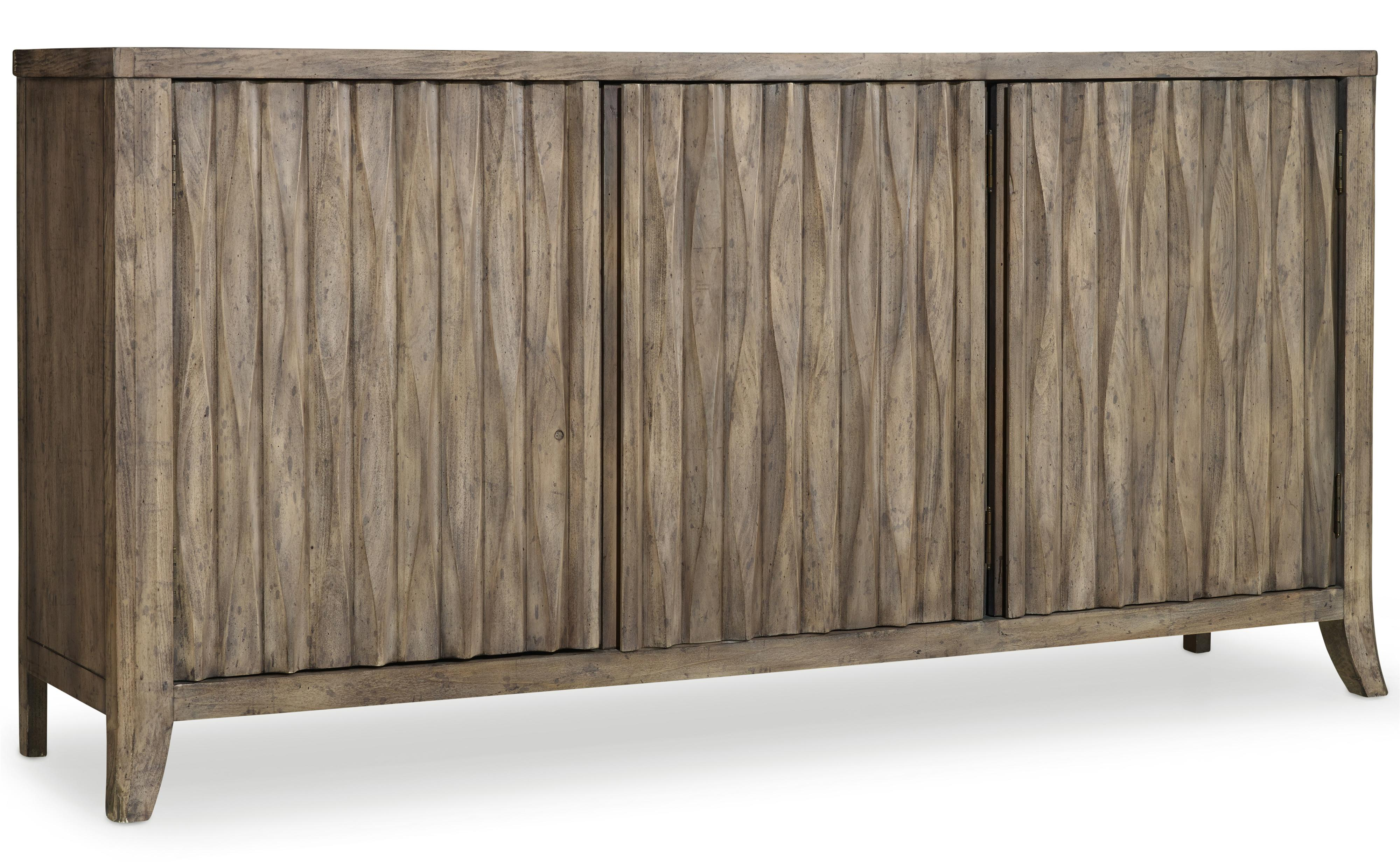 Mélange Kashton Credenza by Hooker Furniture at Stoney Creek Furniture