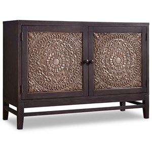 Matisette 2 Door Chest with Carved Front